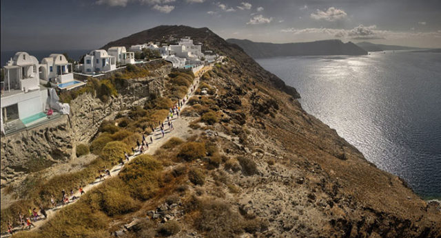 Santorini-Experience_running-photo-by-Loukas-Hapsis