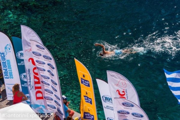 2 open water swimming_ by Elias Lefas