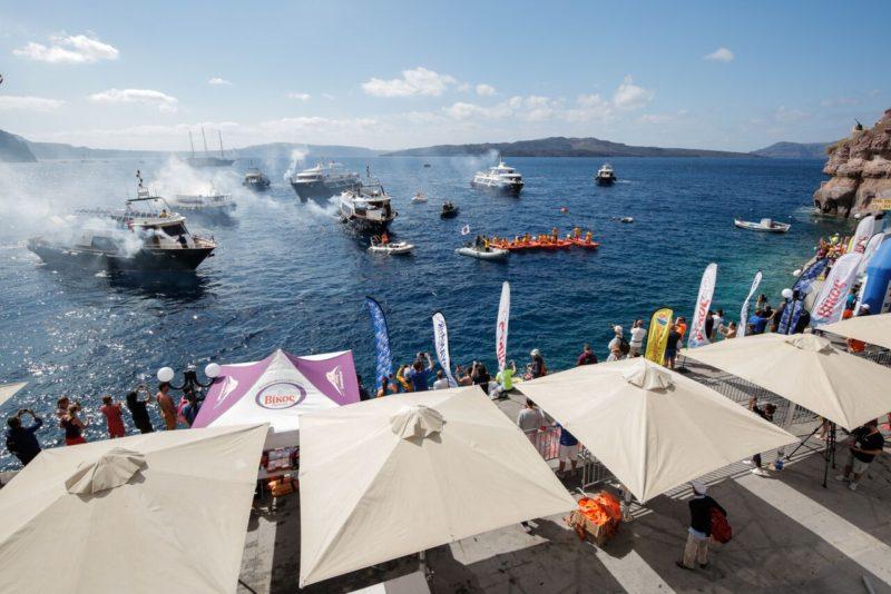 Πανηγυρική λήξη του αγώνα κολύμβησης ανοιχτής θαλάσσης by Vikos (photo by Babis Giritziotis)
