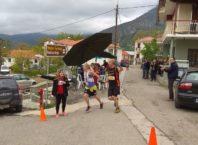 Τερματισμός 21km πρώτη γυναίκα γενικής — μαζί με Tijana Panic και Alexis Mavronas
